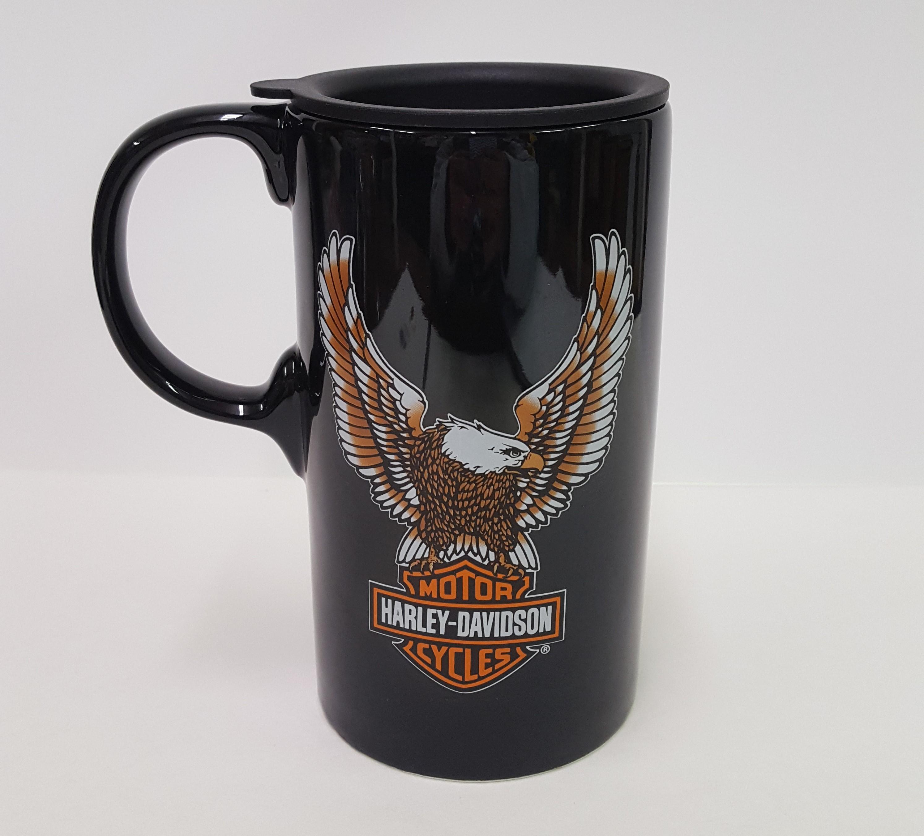 0f139089ef6 Harley-Davidson Travel Latte Mug – Bar & Shield Eagle Tall Boy – Something  Special by Marilyn